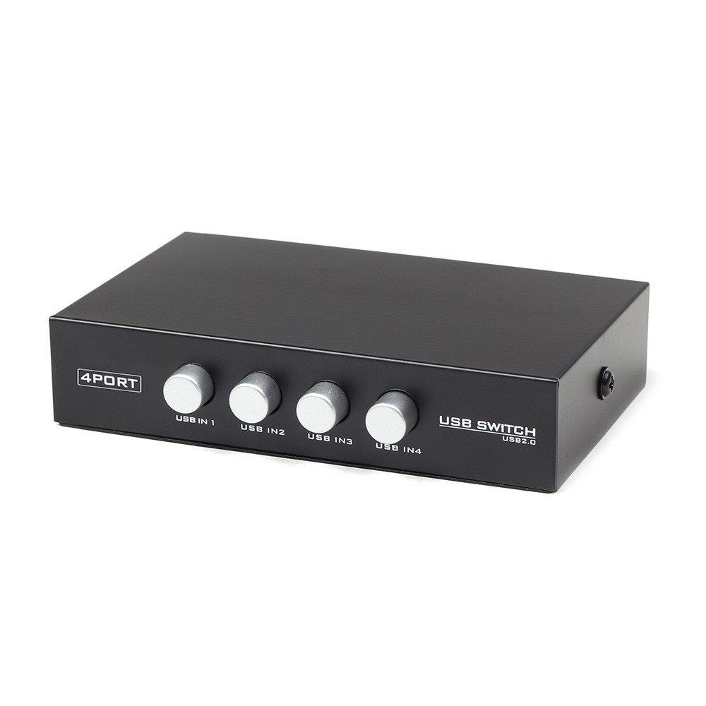 GEMBIRD Dat přepínač  4:1 manual USB - DAT053121