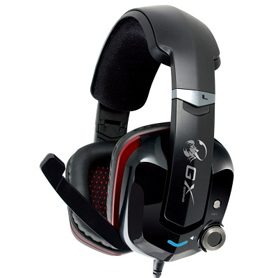Genius GX Gaming headset - CAVIMANUS HS-G700V Gaming, vibrace, 7.1 virtual - 31710043101