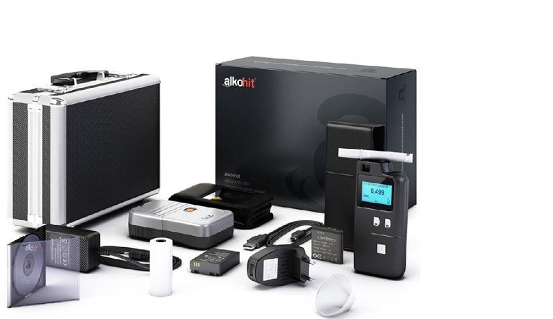 ALKOHIT X100 elektrochemický profesionální alkohol tester s tiskárnou - AlkohitX100tisk