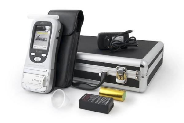 ALKOHIT X600 elektrochemický profesionální alkohol tester s tiskárnou - Alkohit X600tisk