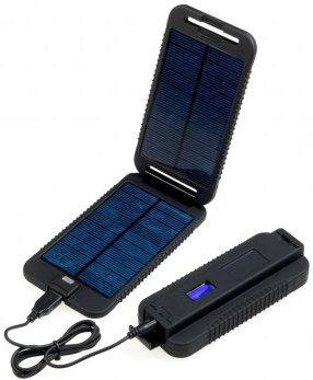 Solární outdoorová záložní nabíječka Powermonkey-eXtreme: panely + powerbank 9000mAh (černá) - PPW-060