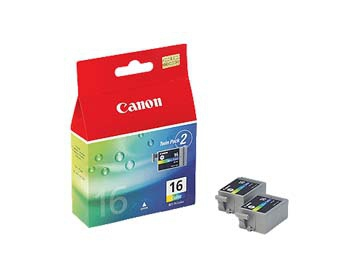 Canon cartridge BCI-16 Color Twin Pack (BCI16CL) - 9818A002