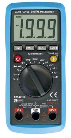 Emos multimetr EM420B, auto range - 2202008000