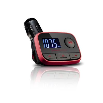 ENERGY Car MP3 f2 Racing Red, FM vysílač, SD/SDHC karty až do kapacity 32GB, MP3,WMA,USB,DO - 391233
