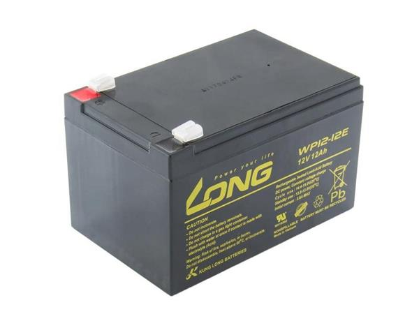 Baterie Long WP12-12B (12V/12Ah - Faston 250) - WP12-12B