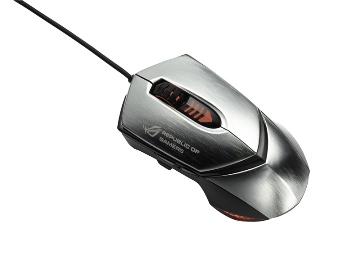 ASUS laserová herní myš GX1000 stříbrná - 90-XB3B00MU00000-