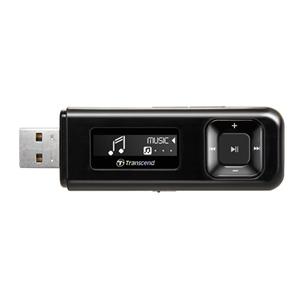Transcend 8GB Flash MP3 Přehrávač T-Sonic 330 černý - TS8GMP330K