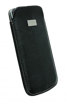 Krusell pouzdro Luna 4XL - Samsung Galaxy Note/Note II/Galaxy S Wi-Fi /Sony Xperia Z/148x83x10 mm (č - PKR-95343