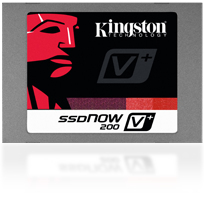 Kingston Flash 120GB SSDNow V300 SATA 3 2.5 (7mm height) w/Adapter - SV300S37A/120G