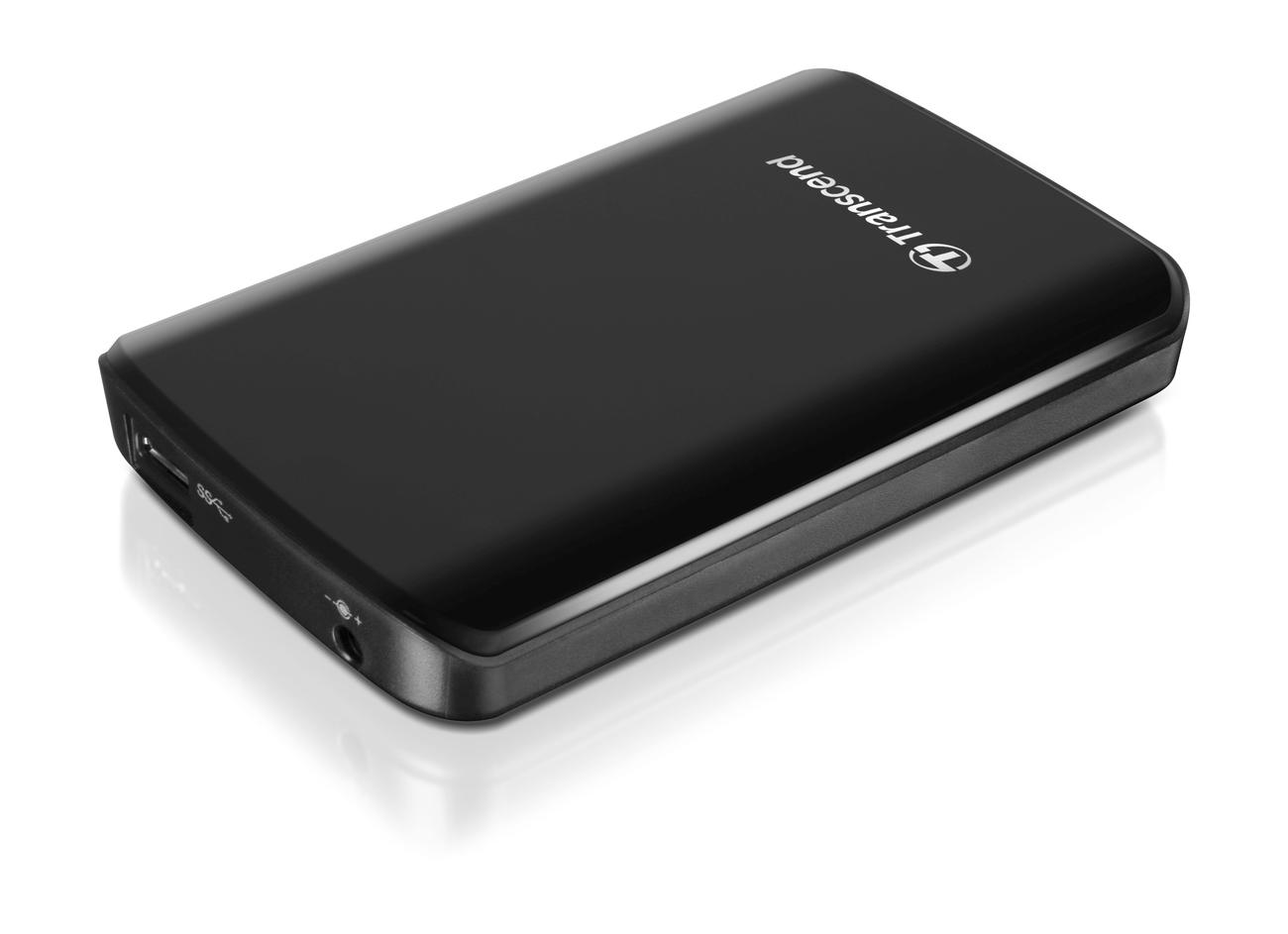 """TRANSCEND 1TB StoreJet 25D3, USB 3.0, 2.5"""" Externí hard disk, černý - TS1TSJ25D3"""