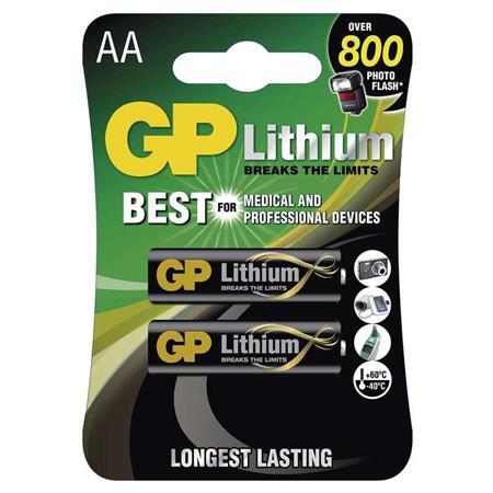 GP AA Lithium lithiová - 2 ks - 1022000711