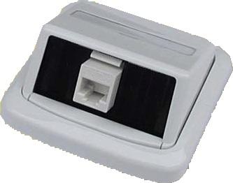 UTP zásuvka ABB TANGO 1xRJ45 cat.5e - 4300