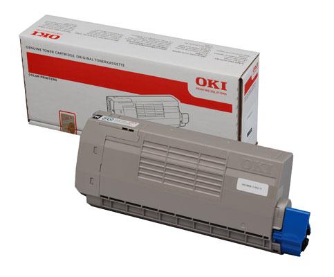 OKI Bílý toner do C920WT (8 000 stránek) - 44036059