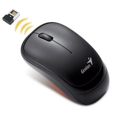 GENIUS Traveler 6000Z/ 1000 dpi/ 2.4Ghz/ bezdrátová/ USB/ černá - 31030023100