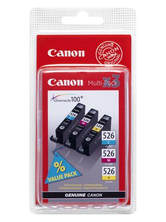 Canon cartridge CLI-526 C/M/Y MultiPack (CLI526CMY) SEC - 4541B012