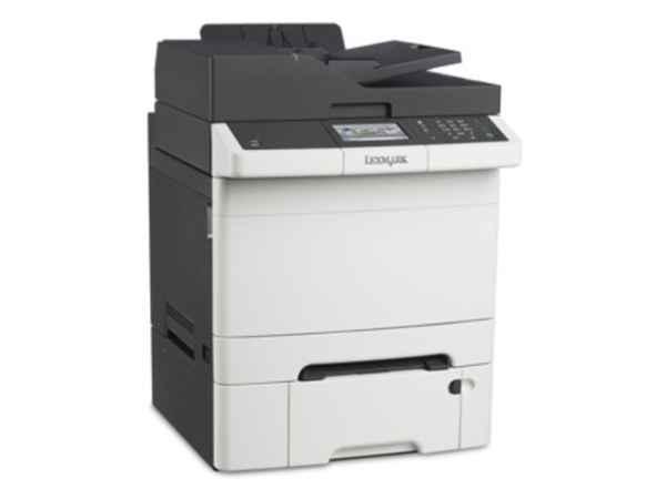 Lexmark CX410Dte color laser MFP, 30 ppm, síť, duplex, fax, RADF, dotykový LCD, druhý zásobník papír - 28D0612