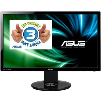 ASUS VG248QE LED 24.. wide FHD 144Hz, 1ms, DC 80mil:1, DVI, HDMI, DP, HAS,č. - 90LMGG001Q022B1C-