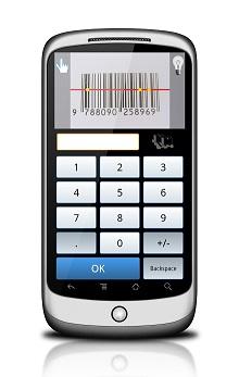PLU Scanner - čtečka čarového kódu pro mobilní telefony Android - WR