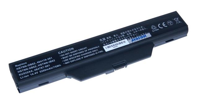 Náhradní baterie AVACOM HP Business 6730s, 6830s, HP 550 Li-ion 14,4V 5200mAh /75Wh - NOHP-683S-806