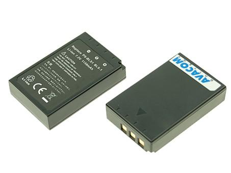 Náhradní baterie AVACOM Olympus BLS-1, PS-BLS1 Li-ion 7.2V 1150mAh 8.3Wh - DIOL-BLS1-053