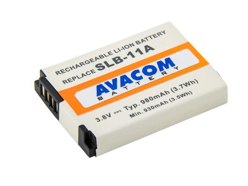 Náhradní baterie AVACOM Samsung SLB-11A Li-ion 3.8V 980mAh - DISS-11A-734