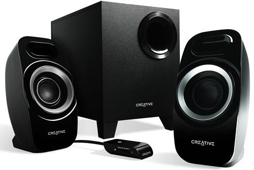 Creative reproduktory Inspire T3300 2.1, 20W, černé - 51MF0415AA000