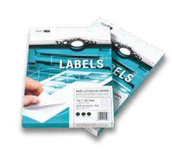 Samolepicí etikety 100 listů ( 2 CD etikety 118 mm) - EL/MF-2CD
