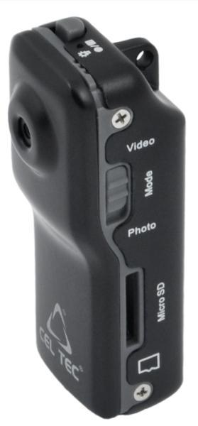 CEL-TEC DCR-12 HD - minikamera na microSD/SDHC karty - 1212-024