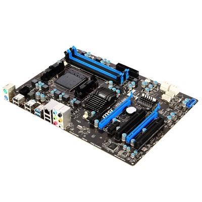 MSI 970A-G43, AM3+, AMD970, 4xDDR3, 2xPCIe16, GL, 8CH, USB3.0 - 970A-G43
