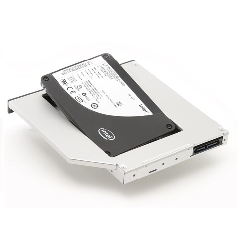 Dell rámeček pro sekundární HDD do Media Bay šachty pro Precision M4600, M4700 - 2BNV7