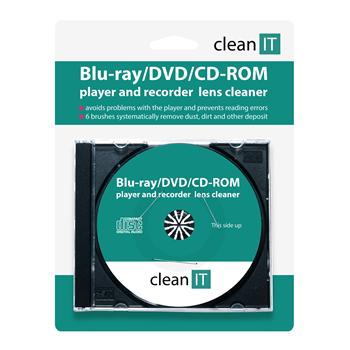 CLEAN IT čistící CD pro Blu-ray/DVD/CD-ROM přehrávače - CL-32
