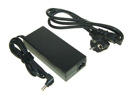 AVACOM Nabíjecí adaptér pro notebook 100-240V/19V 4,74A 90W zahnutý konektor 5,5mm x 2,5mm - ADAC-19V-90Wb