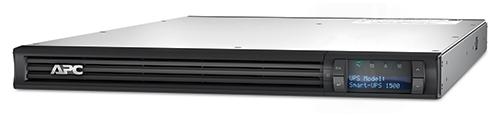 APC Smart-UPS 1500VA LCD RM 1U, 1 kW, hloubka 66,5 cm - SMT1500RMI1U