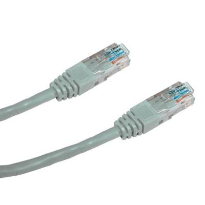 DATACOM Patch cord UTP CAT6 0,5m šedý - 1590