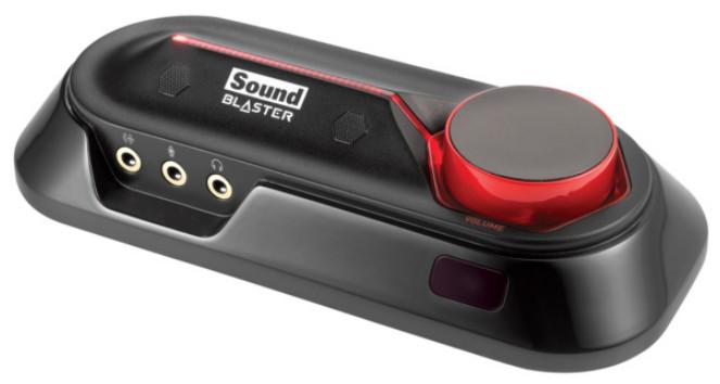 Creative Sound Blaster OMNI SURROUND 5.1, externí zvuková karta, USB,SBX pro studio - 70SB156000002