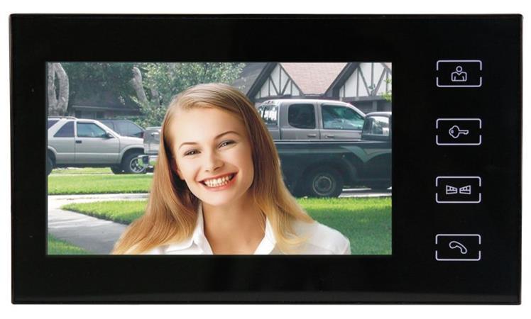 """Emos videotelefon RL-10, barevný 7"""" LCD, černý - 3010001114"""