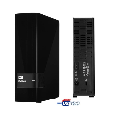 "WD My Book 2TB Ext. 3.5"" USB3.0 (single drive) - WDBFJK0020HBK-EESN"