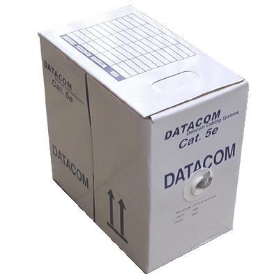 DATACOM UTP kabel drát, Cat.5e, box 305m, PVC - 1100