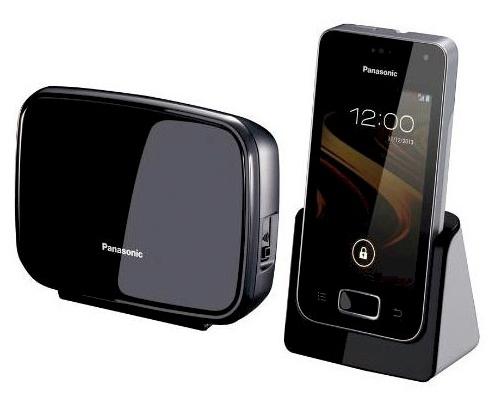 """Panasonic KX-PRX110FXW, Premium DECT dotykový telefon, 3,5"""" LCD, Android, WiFi, - KX-PRX110FXW"""