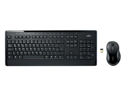 Fujitsu set wireless klávesnice+myš LX901 CZ/SK - S26381-K565-L404