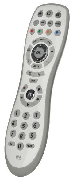 One For All Comfort Simple 4 URC6440 - univerzální dálkový ovladač - 3233064400