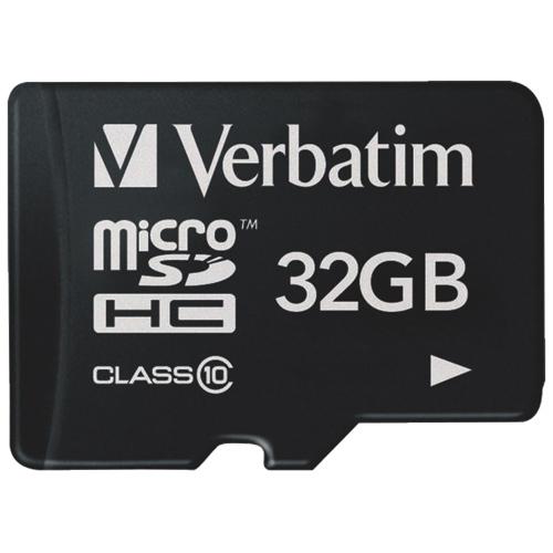 VERBATIM micro SDHC 32GB Tablet Class 10 UHS-1 - 44044