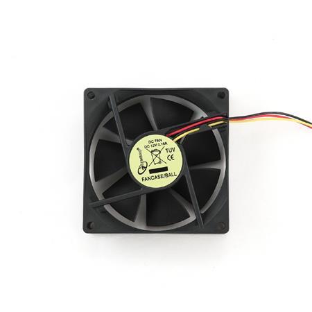 Gembird Chladič ventilátor do skříně 80x80 kuličkové ložisko - FAN053033