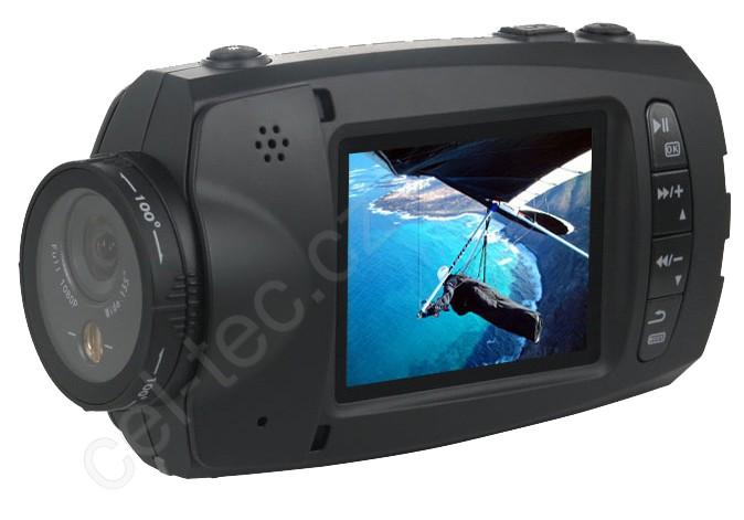 CEL-TEC HD-96 - sportovní vodotěsná Full HD minikamera na microSDHC karty, LCD - 1209-012