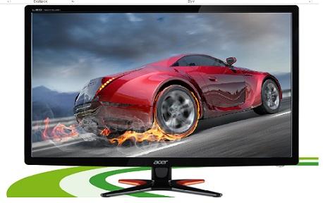 "Acer LCD GN246HLBbid, 61cm (24"") LED 144Hz, 1920 x 1080, 100M:1, 1ms, DVI, HDMI, Black, 3D moni - UM.FG6EE.B06"