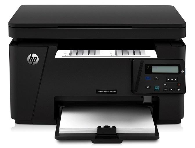 HP LaserJet Pro MFP M125nw (A4, 20ppm, USB, Ethernet, Wi-Fi, Print/Scan/Copy) - CZ173A