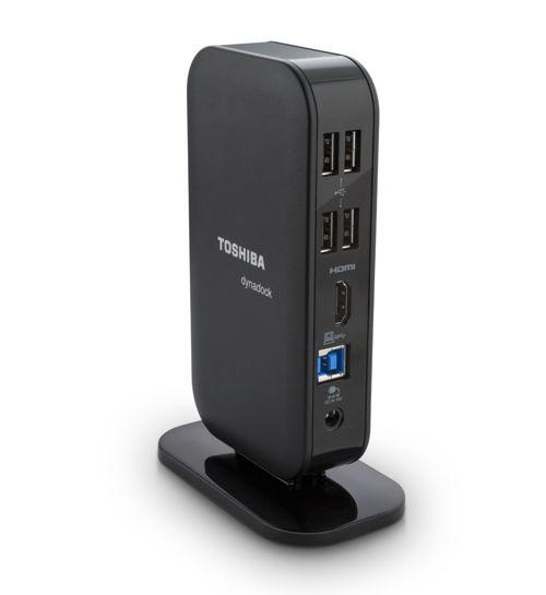 Toshiba Dynadock V3.0 - USB 3.0 Port Rep (HDMI) - Černý (all NB via USB)) - PA5082E-1PRP