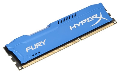 KINGSTON 8GB 1600MHz DDR3 CL10 DIMM HyperX FURY Blue Series - HX316C10F/8