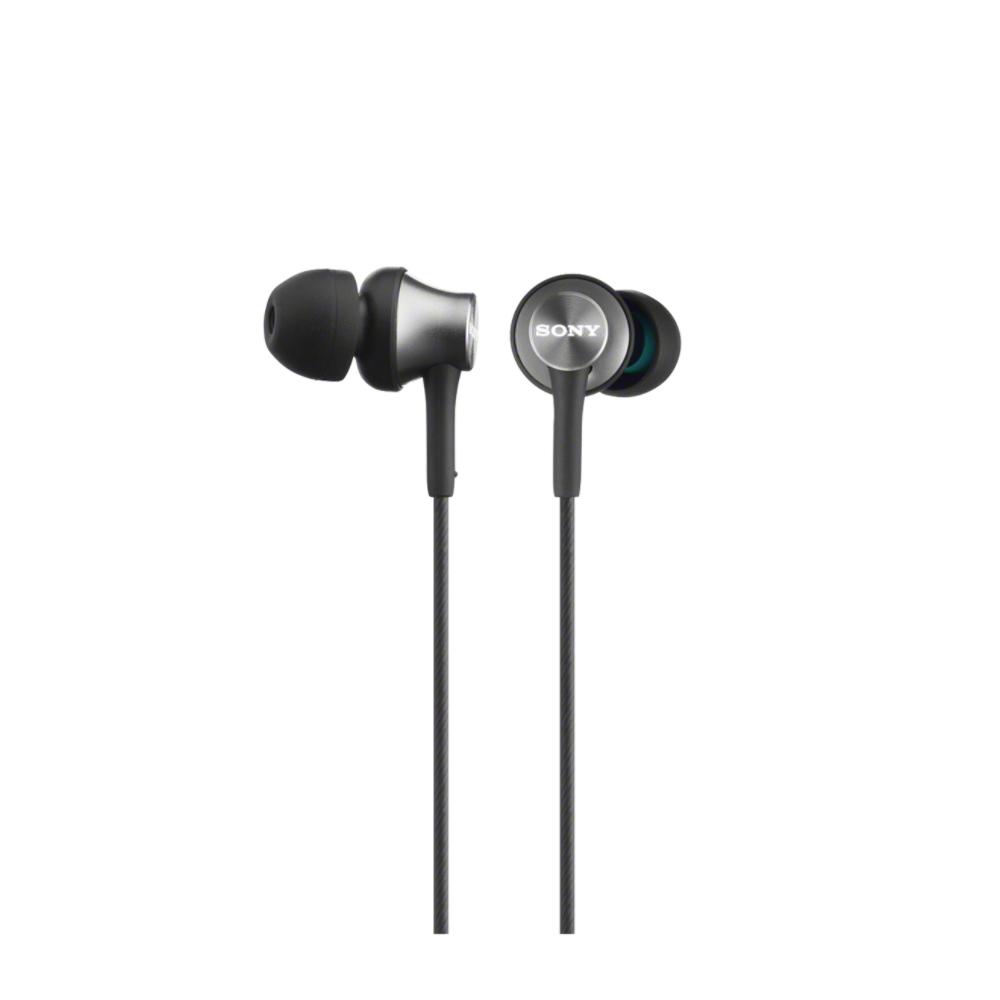 SONY MDR-EX450AP Sluchátka do uší s mikrofonem, rozsah 5 až 25000 Hz - Gray - MDREX450APH.CE7