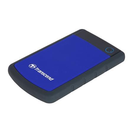 """TRANSCEND 2TB StoreJet 25H3B, USB 3.0, 2.5"""" Externí odolný hard disk, černo/modrý - TS2TSJ25H3B"""
